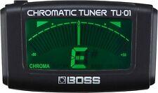 More details for boss tu-01 clip-on chromatic guitar tuner