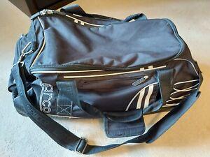 Sparco Luggage Full Kit Helmet Trolley Bag Black Grey Official Sparco