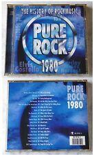PURE ROCK 1980 Knack, Black Sabath, Rush, Thin Lizzy, Girlschool,... Club-CD TOP