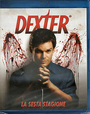 DEXTER Stagione 06 (4 Blu-Ray) BLU RAY NUOVO