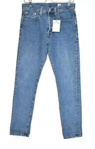 Womens Levis 501 Skinny High Rise Blue Selvedge Jeans Size 8 W27 L30