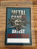METAL CAMP 2011 - Original Artist FESTIVAL -Pass