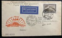 1931 Germany Graf Zeppelin  LZ 127 Icebreaker Malyguin Cover Polar Flight # C42
