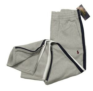 Polo Ralph Lauren Boys Grey Heather Zip Cuff Sweatpants