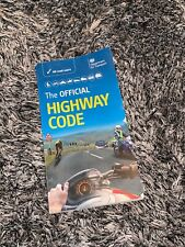 EXCELLENT CONDITION - THE OFFICIAL HIGHWAY CODE BOOK
