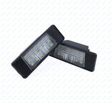 1Pair LED Number License Plate Light For NISSAN JUKE NISSAN PRIMERA P12