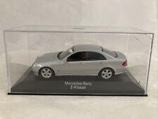 1/43 Minichamps Mercedes-Benz E-Klasse, Silver, no box