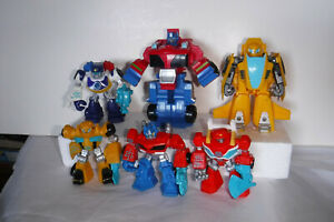 Playskool Heroes Rescue Bots Action Figures lot of 6