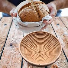 AREBOS Gärkörbchen 1,0 Kg Rund Gärkorb Brotteig Korb Brotform Peddigrohr