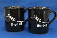 Vintage Over The Hill Hallmark 1985 Mugs EUC 2 Lot