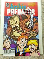 ARCHIE vs PREDATOR Ashcan Comic Book SIGNED by Fernando Ruiz #1 NYCC Dark Horse