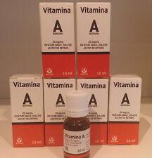 Vitamina A retinolo 10ml ANTI AGE - ACNE- CICATRICI - CICATRICES - ACNES 6 PZ !!