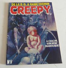 Mag BD Horreur  CREEPY série 2   N° 3  sep21