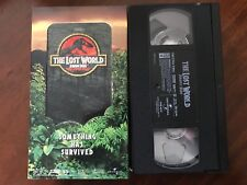 The Lost World: Jurassic Park (Vhs, 1997) Jeff Goldblum, Steven Spielberg