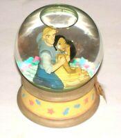 "Disney Enesco Pocahontas ""Colors of the Wind"" Vintage 6.5"" Musical Snow Globe"