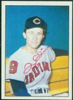 Original Autograph of Ty Cline of the Cleveland Indians on a 1978 TCMA Card