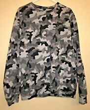 Under Armour Loose Storm 1 Mens Large Gray Camouflage Pullover Crew Neck Sweater