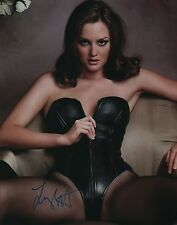 Leighton Meester signed 11x14 photo