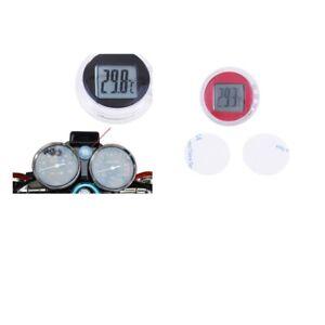Temperatur messgerät Thermometer für Motorrad, rot, schwarz
