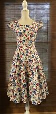 NWT H&R London 50's Look Floral Dress Size Medium