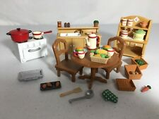 Calico critters/sylvanian families Kitchen Furniture With Accessories