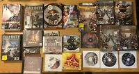 Lot of 20 PC and MAC Games Computer Gaming Bundle - 20+ discs