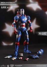 Iron Man 3 figurine métal Super Alloy 1/12 Iron Patriot 15 cm Marvel LED 32709