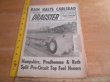 Don Prudhomme Jerry Ruth 1965 National Dragster news magazine Carlsbad Snake