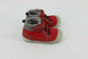 Stride Rite Toddler Unisex SM Danny Sneakers Shoes Red 6 M
