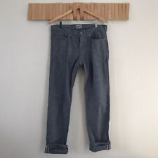 NAKED AND FAMOUS WEIRD GUY CHAMBRAY RAW SELVEDGE DENIM JEANS INDIGO JAPAN 32