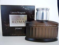 Laura BIAGIOTTI ESSENZA DI ROMA UOMO 125ml EDT Spray Nuovo Offerta Top