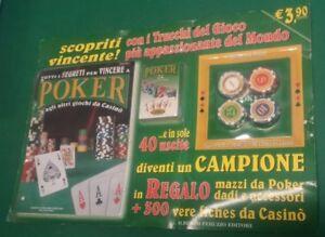 Poker - CARTE MAZZO tutti i segreti per vincere a poker ALBERTO PERUZZO EDITORE
