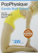 Barre Ballet Toning EXERCISE DVD - Pop Physique CARDIO BUTT SCHOOL!