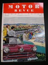 MOTOR REVUE HEFT 14 v. 1955 LE MANS MILE MIGLIA  MONACO HERMANN LANG THUNDERBIRD