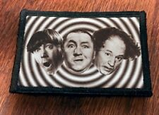 3 Stooges Faces Morale Patch Tactical Military Army USA