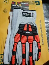 Cestus Armored Gloves - Deep Impact Cut360 leather