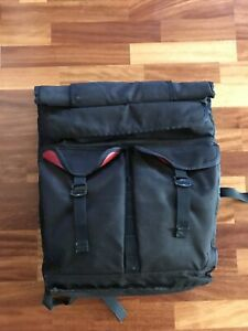 Chrome Industries Orlov backpack- Black And Red, Made In The USA