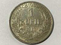 1 Rupee German East Africa 1913 J #173#
