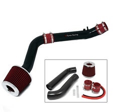 BCP Matte Black/Red 99-00 Civic HX EX Si 1.6L Cold Air Intake System + Filter