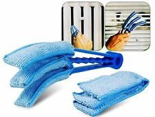 Kawachi Blinds Microfiber  Duster Slats Cleaner Window Triple Dust Brush K270