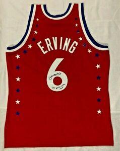 Julius Erving Signed 1983 All-Star Mitchell & Ness Jersey Fanatics Holo A886521