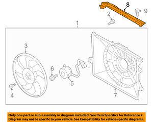 HYUNDAI OEM 13-18 Santa Fe 3.3L-V6 Cooling Fan-Cover 291502W800