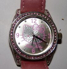 BELLE VERITABLE MONTRE HELLO KITTY 4401001 BY SANRIO TBE FONCTIONELLE