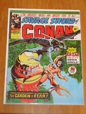 CONAN SAVAGE SWORD OF #9 MARVEL BRITISH WEEKLY MAY 3 1975