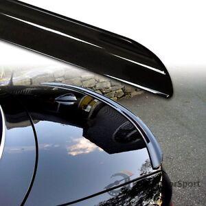 Fyralip Y22 Painted Black Trunk lip Spoiler For Holden Commodore VY Sedan 02-04