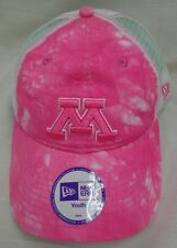 Minnesota Golden Gophers New Era Youth Pink Tiedye Baseball Cap Hat