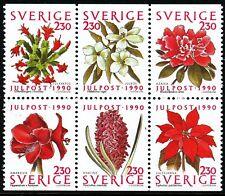 Sweden 2000  Christmas; flowers. Engraver Lars Sjööblom. MNH