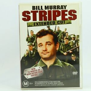 Stripes (DVD, 2005) Extended Cut Bill Murray DVD R4 GC Free Tracked Post