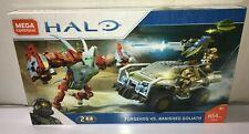 Mega Construx Halo Forgehog Vs. Banished Goliath Block Building Set w/ 2 Figures