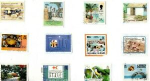 A LOVELY SELECTION OF ALL DIFFERENT KILOWARE STAMPS FROM THE CAYMAN ISLANDS